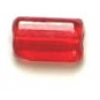 Tiny Flats 5X3.5mm Transparent Red